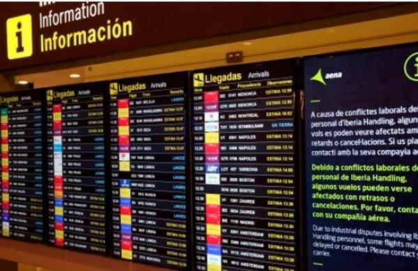 Otra huelga en el aeropuerto de Barcelona