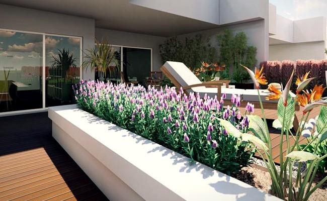 aprovechar el espacio de la terraza