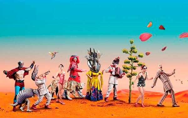 Circo del Sol a Madrid con LUZIA