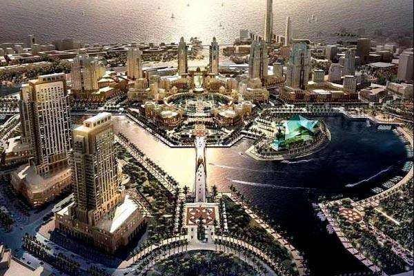 milmillonaria ciudad de Arabia Saudí